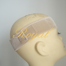 Qingdao Supply Wigs Grips Cotton Velcro Headband Wig Band Hair Accessories