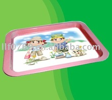 Printed metal tray, KFC and Coca cola food serving tray. Factory price and High quality.