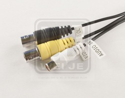 Audio Video TV connector - BNC RCA F type