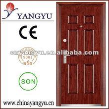 2012 Hot Steel Entrance Door ( ISO9001/CE/SON )