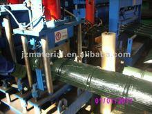 Automatic glazed ridge tile sheet machine/Auto Aluminium ridge cap machine
