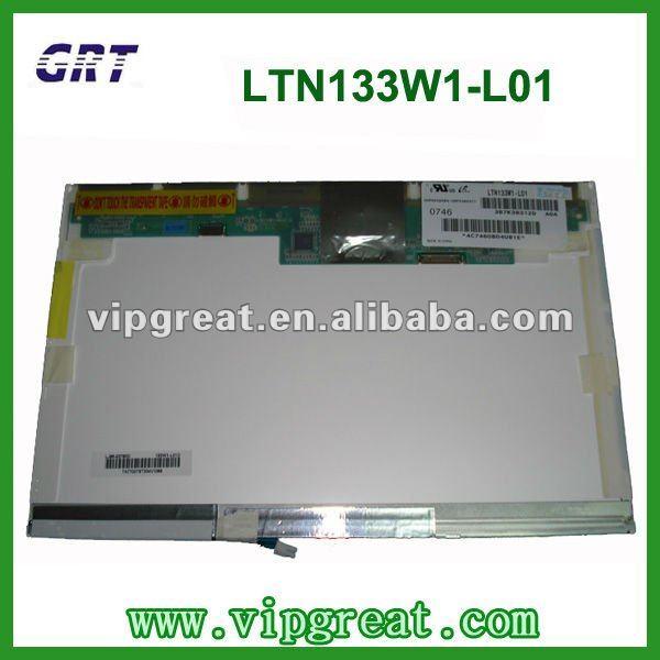 "13.3""30pin LCD LTN133W1-L01 laptop LCD panel"