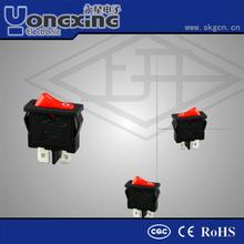 KCD single pole single throw 6a power switch