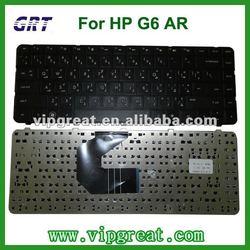 AR layout laptop keyboard for HP Pavilion G6 black