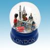 polyresin souvenir water globe for london snow ball