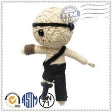 Custom high quality best selling funny little voodoo dolls