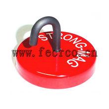 Ferrite Shallow Pot Magnet