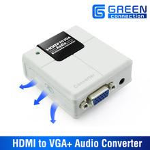 HDMI to VGA and Audio Converter