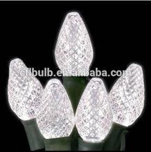 Pure White 110V C7 LED Christmas Light