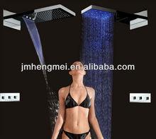 22 inch Top led overhead shower set