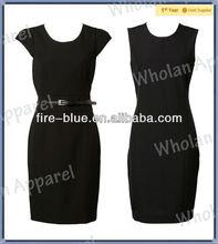 women's black elegant wholesale bandage dress 2014