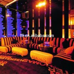 2015 new fashion bar sofa/ KTV sofa furniture for KTV or pub or bar (FLL-KTV-006)