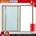 alumínio as2047 residencial interior duplo painel de portas de vidro deslizantes