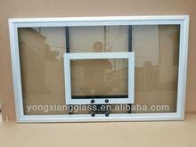 Transparent tempered glass basketball backboard