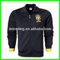 2014 brasil nação preta jaqueta de futebol, treino de alta qualidade