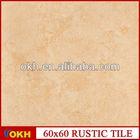 Ceramic tile floor medallions