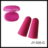 bullet shape children size disposable promotion sleeping travelling pp box safety hearing protector/earplug