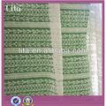 nylon elástico de confecção de malhas do laço de tecido para o vestido