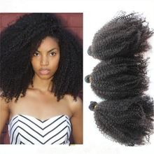 Top quality unprocessed afro kinky hair extension, brazilian human hair extension, virgin Brazilian afro kinky human hair