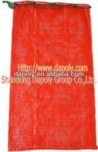 shandong qingdao good factory vegetable onion potato fruite packaging orange mesh plastic bag