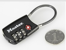 High quality zinc alloy TSA lock with logo