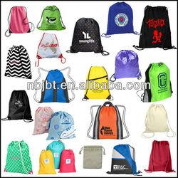 Top Quality Customized Cheap Promotion Drawstring Bag/Organic Cotton Drawstring Bag/Waterproof Nylon Drawstring Bag