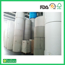 cheap pe coated paper roll for paper cup making