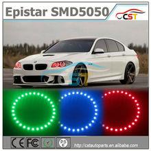 New model 8 level brightness remote control 20 colors led angel eyes color change