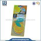 Advertising Promotional Logo Printed Paper Car Air Freshener