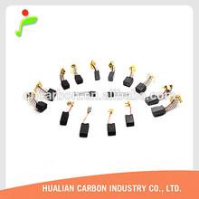 China carbon brush for dewalt aeg boshch and black&decker