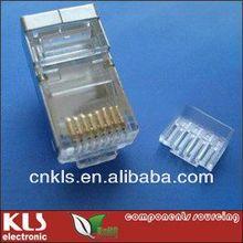 CAT6/CAT7 shield RJ45 connector 8P8C KLS12-MP03B-CAT6-8P