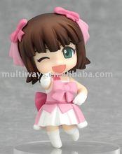 Super-cute Plastic Figurine/Anime figure/plastic action figure toy