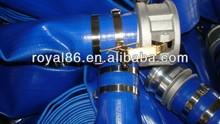 blue pvc lay flat hose