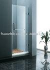 hinged bath screen