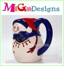 wholesale snowman gift christmas ceramic coffee mug