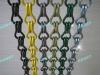 Decorative aluminium chain door curtain