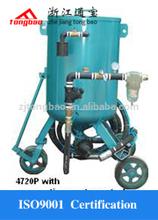 Pressure sandblasting pot,portable sandblaster