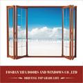 Verre teinté lowes. intérieur extérieur en aluminium coulissantes en verre insonorisantes pliante bi portes persiennes conception