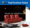 Buena calidad sofá de la sala/sofá reclinable/sofá de cuero( del ya- 605)