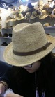 2015 Fashion design lady' fedora hats