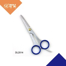 Professional safety barber hair cutting scissors