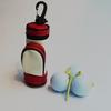 Portable Mini Size Golf Ball Holder Bag For Golfer Bag Holder