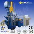 aupu chip de aluminio de fabricación de briquetas de prensa de la máquina