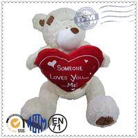 Fashion valentine day plush toys,Valentine gift bear, valentine teddy bear