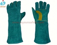 Hot!Reinforced glove printing machine cow split welding gloves