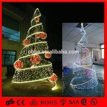 BOOB-Tree Perfect Holiday Artificial Christmas Tree, 7-Feet, PVC Classic Evergreen Led String Light