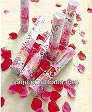 wedding rose pttal/streamer/confetti Party Popper