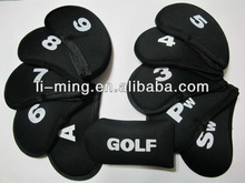 promotional lower cheap fashion neoprene golf Iron cover