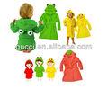 الحلوى الملونة الطفل نمط الحيوان لطيف الكرتونأغطية 100% البشكير القطن منشفة أطفال/ الطفل ملابس خاصة/ الطفل رداء