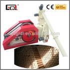 Latest development technology wood briquette machine